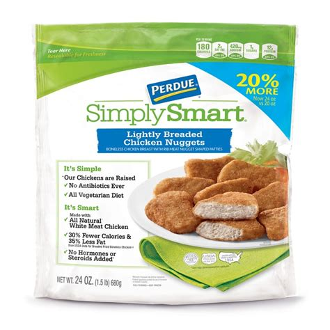 Cooking Chicken Breast In Toaster Oven Perdue 174 Simply Smart 174 Lightly Breaded Chicken Nuggets 24