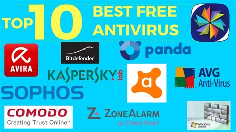 free and best antivirus top 10 best free antivirus software windows mac