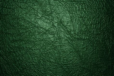Green Leather by Green Leather Texture Up Picture Free Photograph