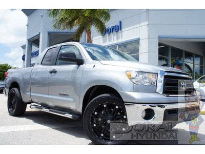 car engine repair manual 2010 toyota tundramax seat position control find used 2010 toyota tundra 5 7l v8 crew max 4x4 flexfuel one tx owner tonneau cover in