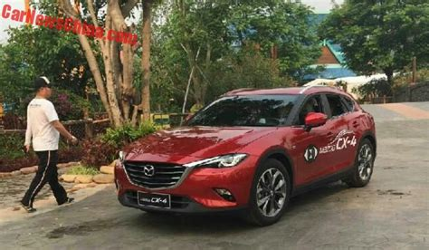 Plastik Cx 4 A new photos of the mazda cx 4 for china carnewschina