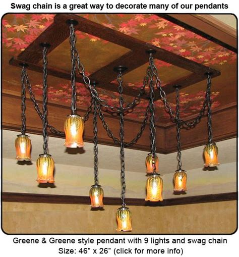craftsman style chandeliers images  pinterest
