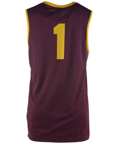 Atasan Kelelawar Jersey 7 Maroon nike s arizona state sun devils replica basketball jersey in purple for lyst
