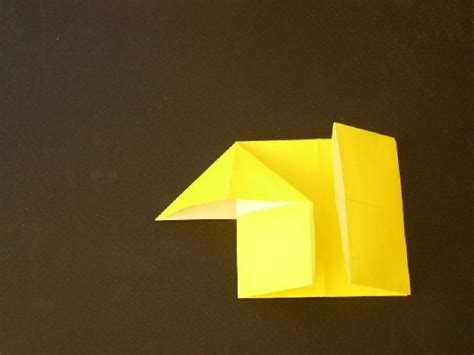 How To Make House Origami - origami house found here info