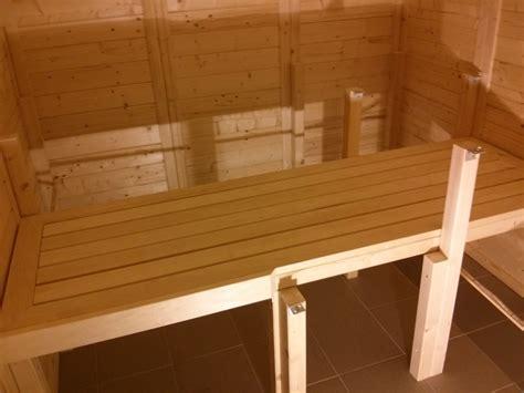 ergonomische liege selber bauen die saunabank aus espenholz bauanleitung