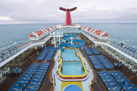 carnival elation pool deck cruise from jacksonville