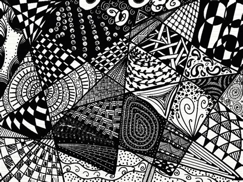 how to create a zen doodle just trying out various zendoodle patterns zendala