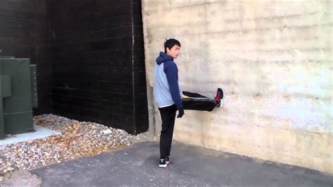 tutorial wall run how to vertical wall run parkour tutorial youtube