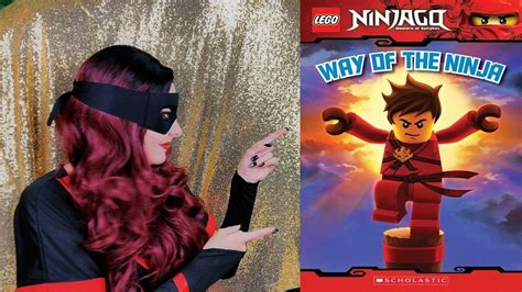 of the ninjas book report the lego ninjago book quot way of the quot read aloud by a