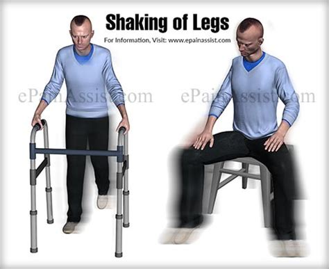 leg shaking shaking of legs or leg tremors classification types causes tests treatment