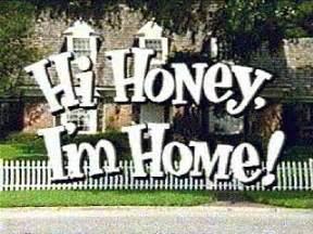 i m home hi honey i m home
