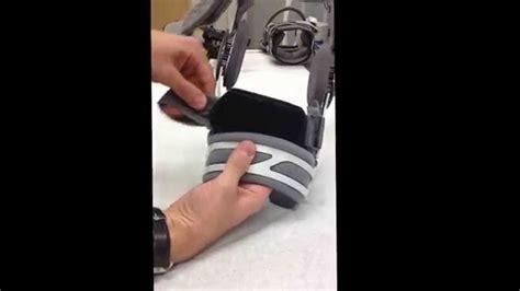 knee brace drortho es 7a01 donjoy anti migration band knee brace installation