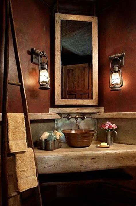 ideas for bathroom decorating themes 30 inspiring rustic bathroom ideas for cozy home amazing