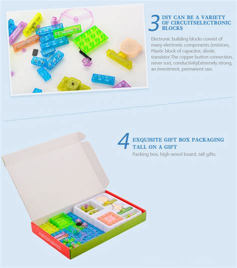 integrated circuit building blocks 120projects diy kits integrated circuit building blocks electronic g0c6 ebay