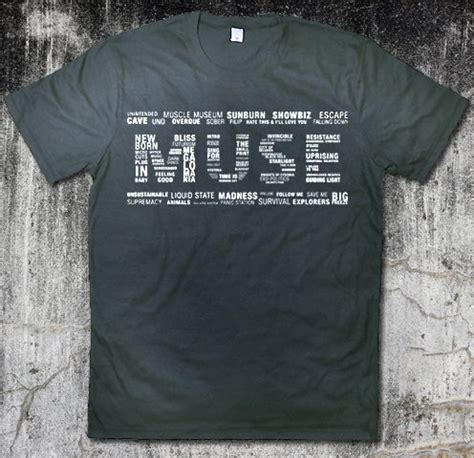 Kaos Muse Tshirt Muse Band 14 135 best images about band merch on pink floyd shirt three days grace and s