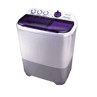 Mesin Cuci Sharp Terbaru daftar harga mesin cuci sharp terbaru juni juli 2016