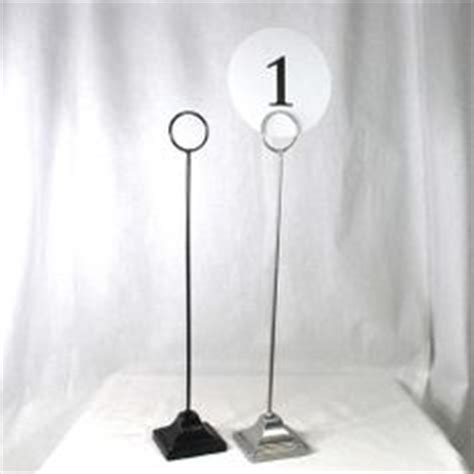 where to buy table number holders 1000 images about wedding tables on table