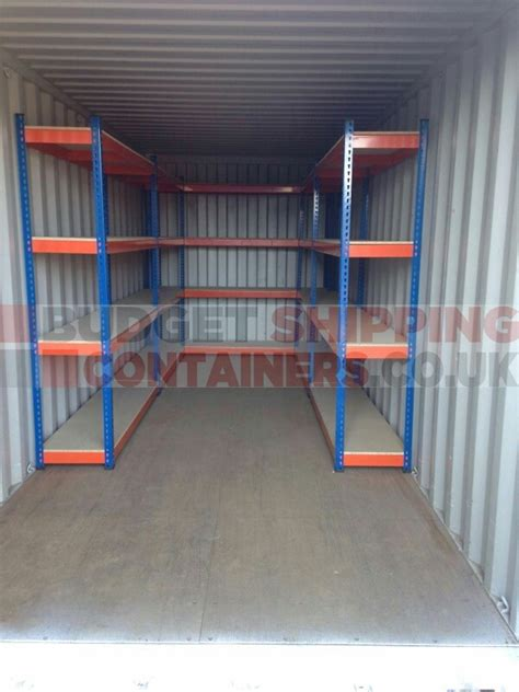 shipping container racking shelving