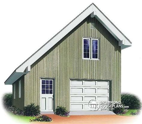 saltbox garage plans garage plan w2972 anything but boring unique and practical this salt box style garage has