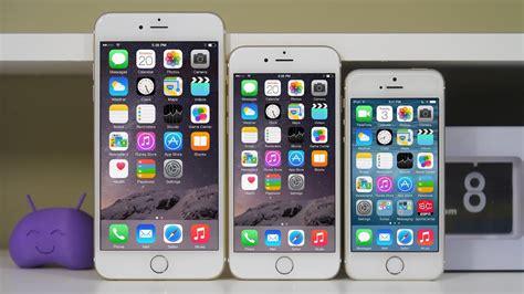 iphone 6 vs iphone 6 plus vs iphone 5s comparison