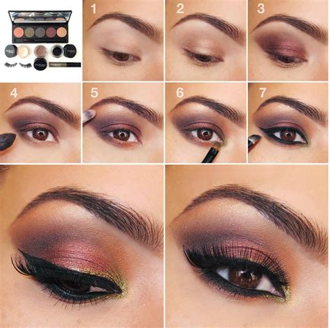 tutorial makeup ultima ii 20 easy step by step eyeshadow tutorials for beginners