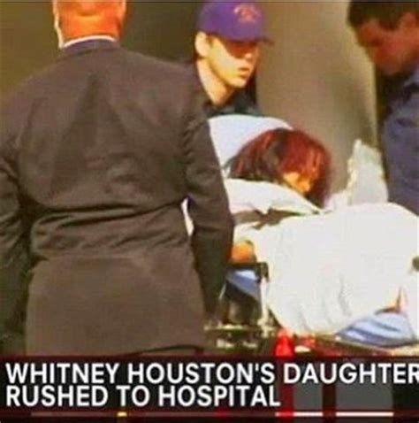 whitney houstons daughter bobbi kristina was rushed to whitney houston s daughter bobbi kristina reportedly brain