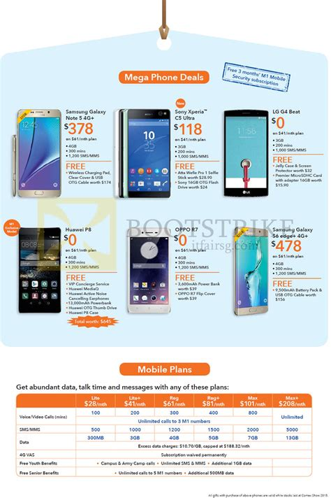 samsung galaxy note 4 price in singapore 2015 m1 mobile samsung galaxy note 5 sony xperia c5 ultra lg g4 beat huawei p8 oppo r7 galaxy