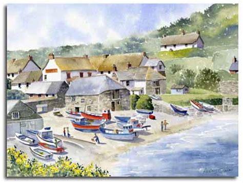 Watercolour Landscape Artists Uk Original Watercolour Paintings By Watercolour
