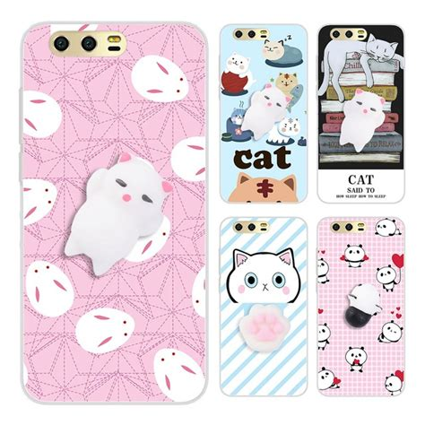 Squishy Samsung J5 Pro Kucing Cat 3d Soft Silicone Limited 3d huawei p8 p9 p10 lite 2017