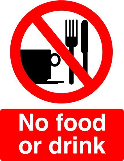 no food or drink no food or drink signs uncommon ways