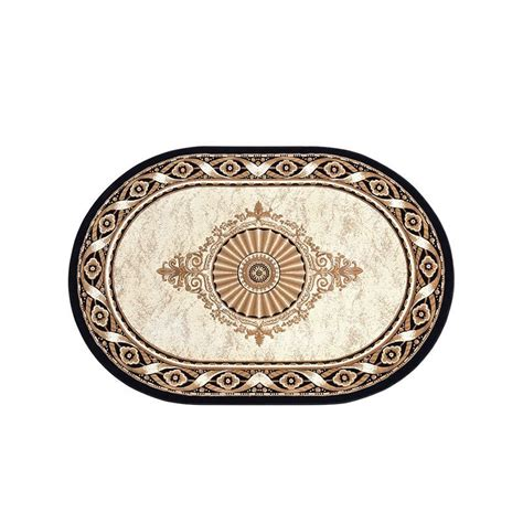 thickening luxury large oval rugs warmly home