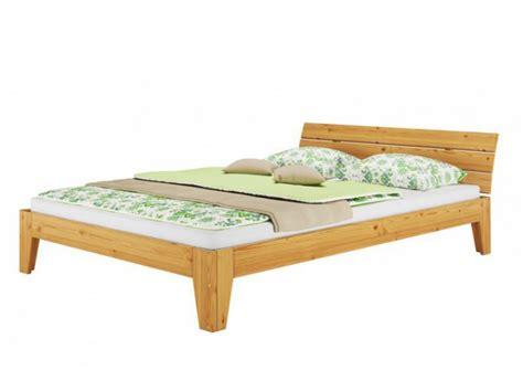 bettgestell 120x200 holz einzelbett kieferbett natur massivholz jugendbett