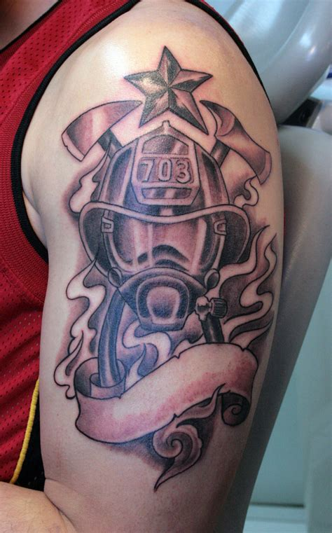 firefighter tattoos for men firefighter tattoos designs ideas and meaning tattoos