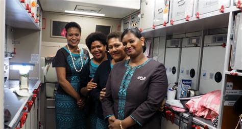 Fiji Airways Cabin Crew by Profit A Hit With Fiji Airways Cabin Crew Fiji Sun