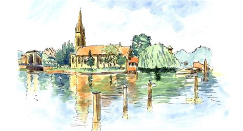 map of river thames at marlow stage 8 the thames pilgrim waythe thames pilgrim way