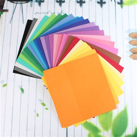 Thick Craft Paper - 24pcs lot thick multicolor sponge foam paper fold