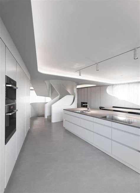 Black oval dining room