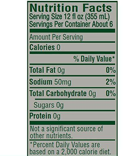 Mtn Dew Nutrition Facts   Besto Blog