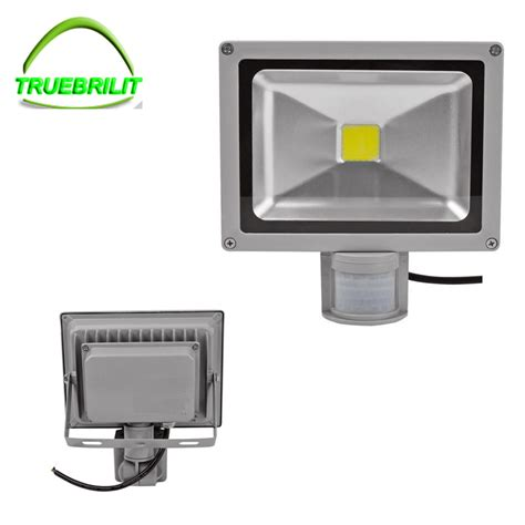 Sensor Flood Lights Outdoor Aliexpress Buy 220v 110v Led Flood Lights Outdoor Dc12v Sensor Floodlight L10w 20w 30w