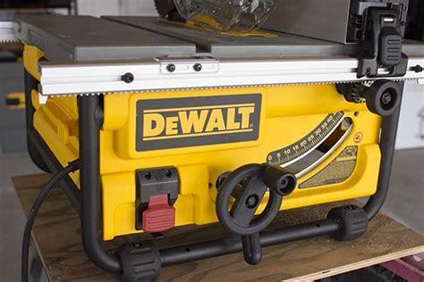 dewalt 7480 table saw dewalt dwe7480 table saw controls tool box buzz tool box