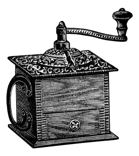 Vintage Coffee Grinder ~ Free Clip Art   Old Design Shop Blog