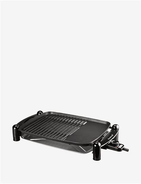 brentwood black indoor electric bbq grill indoor