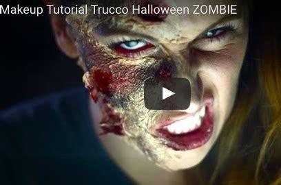 tutorial trucco zombie the walking dead trucco halloween make up zombie semplice fai da te
