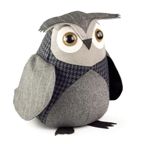 Bloc Porte Chouette Hiboux Cale Porte Animaux Neuf Designs Owl Doorstop All Things Owls