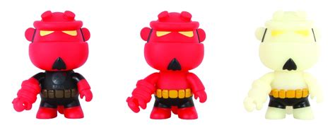 Hellboy Qee Collection Version Vinyl Figure partners with toy2r for hellboy mini qee vinyl