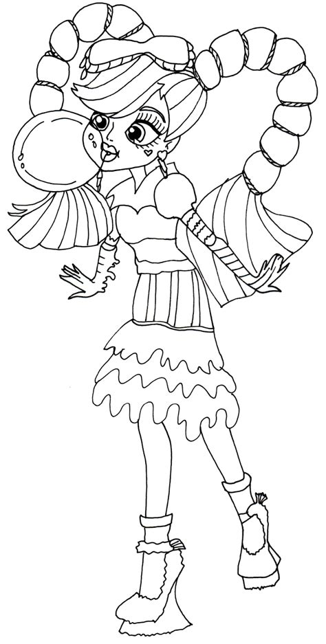 monster high hybrids coloring pages new monster high dolls 2014 coloring pages january 2014