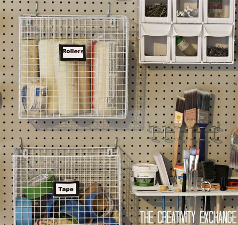 pegboard ideas for tools pegboard diy kitchen garage 47 easy ways to get organized making use of diy pegboard