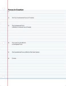 linear note taking