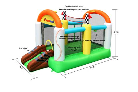 electric bounce house sports bounce house inflatable bouncer