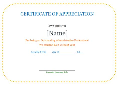 certificate of appreciation for teachers template certificate of appreciation quotes quotesgram